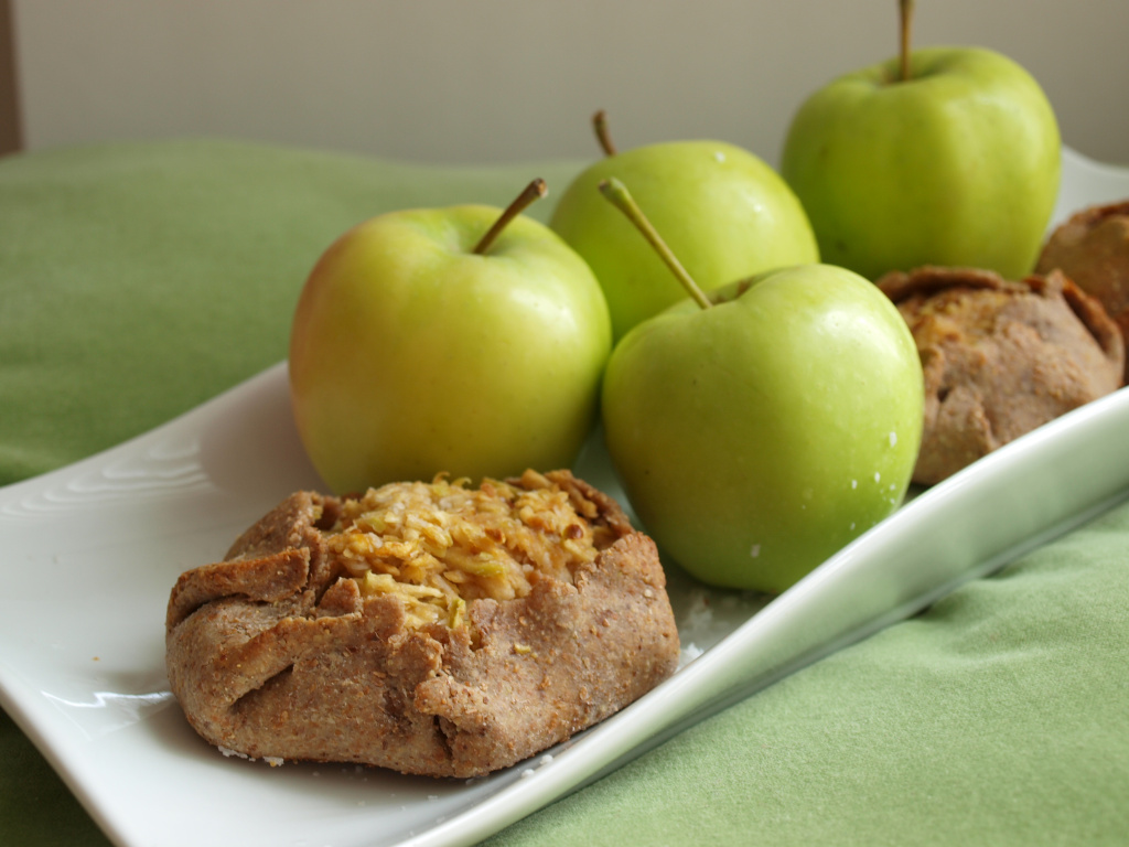 Apple Galettes – Thai Inspired