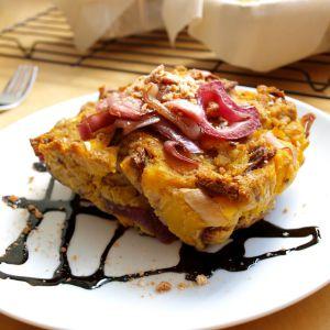 Savory Autumn Bread Pudding