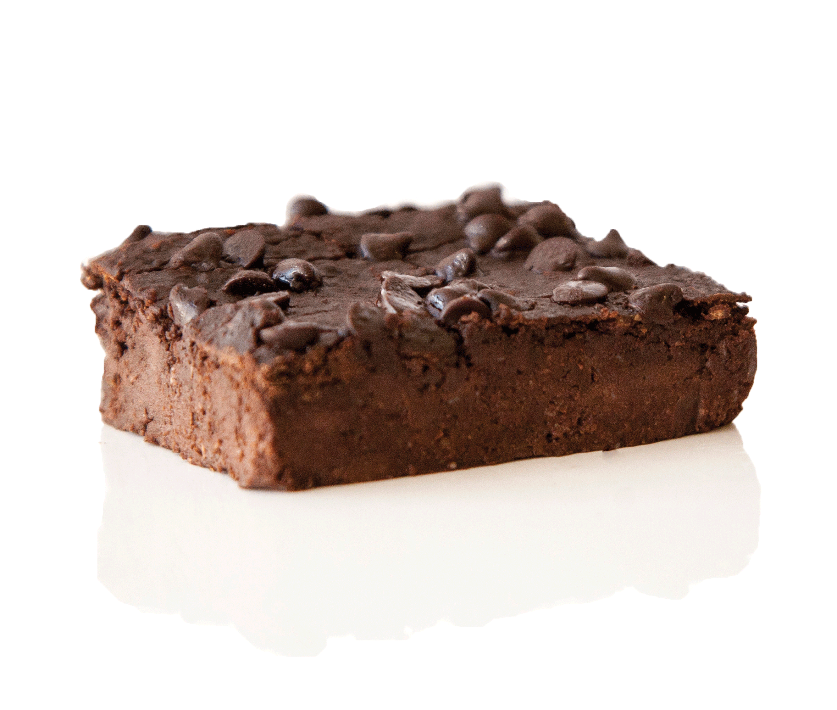 Double Chocolate Brownie- made of healthy ingredients. Delicious healthy dessert.